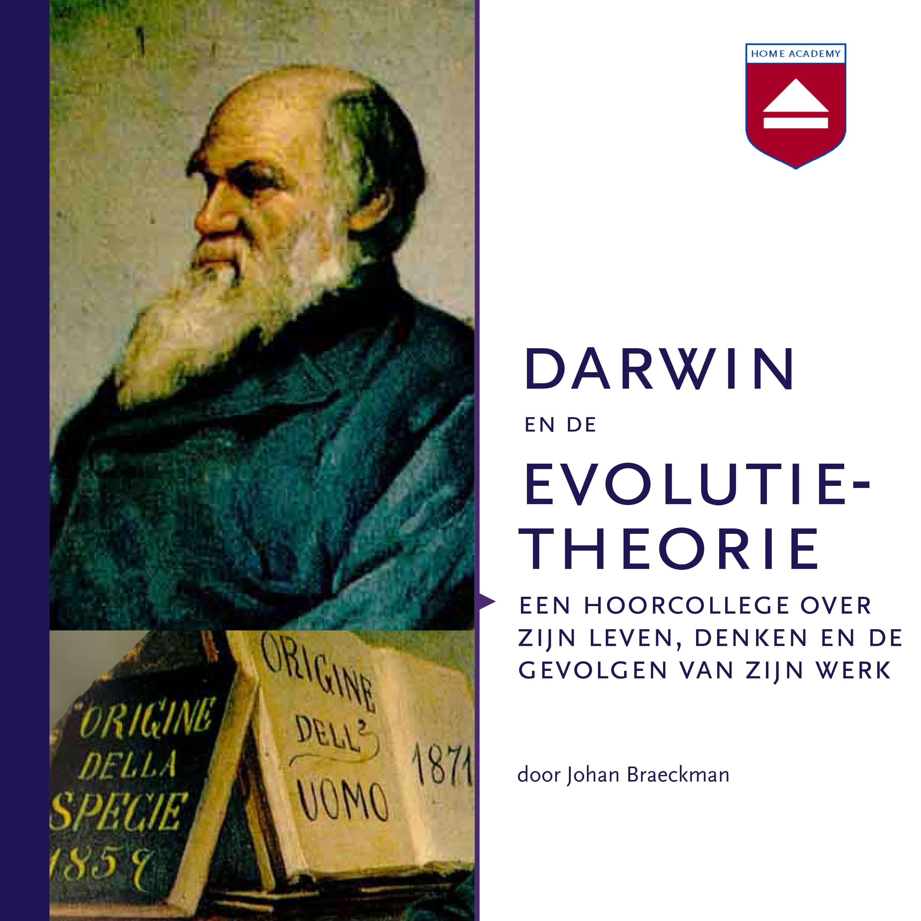 Darwin en de evolutietheorie - hoorcolleges Home Academy