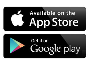 Download via de App Store of Google Play